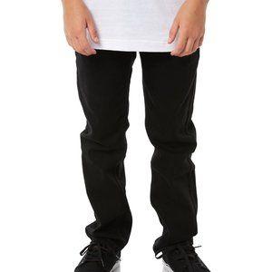 Levis 511 Black slim Straight Jeans size 14 boys